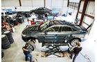 Audi A6, Werkstatt