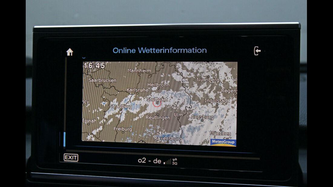 Audi A6, Wetterradar