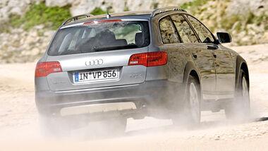 Audi A6 allroad 2.7 TDI, Heckansicht