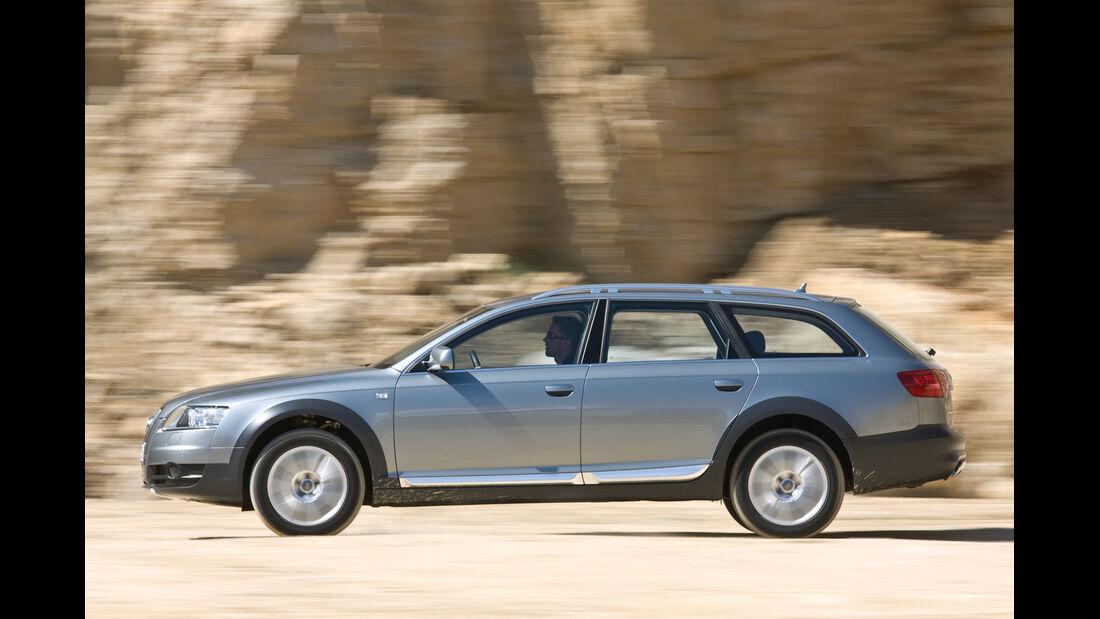 Audi A6 allroad 2.7 TDI, Seitenansicht