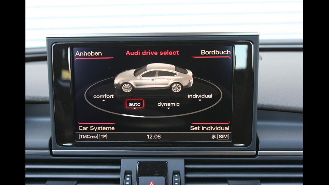 Audi A7 3.0 TDI, Bildschirm