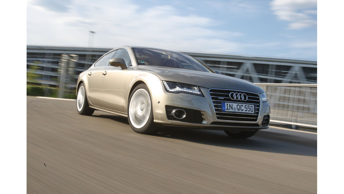 Audi A7 3.0 TDI, Frontansicht