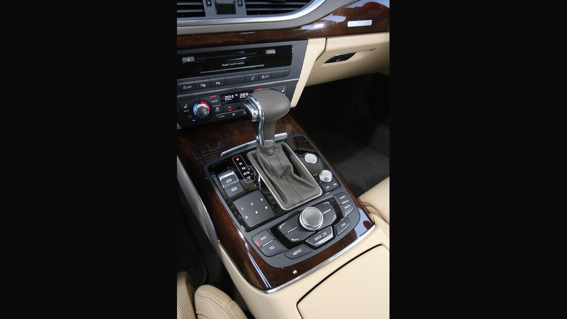Audi A7 3.0 TDI, Schalthebel, Schaltknauf