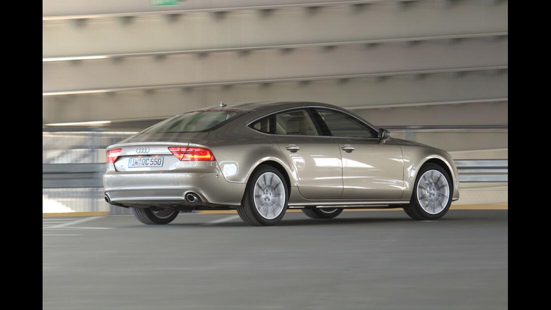 Audi A7 3.0 TDI, Seitenansicht