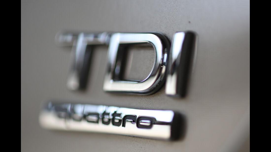Audi A7 3.0 TDI, TDI, Schriftzug