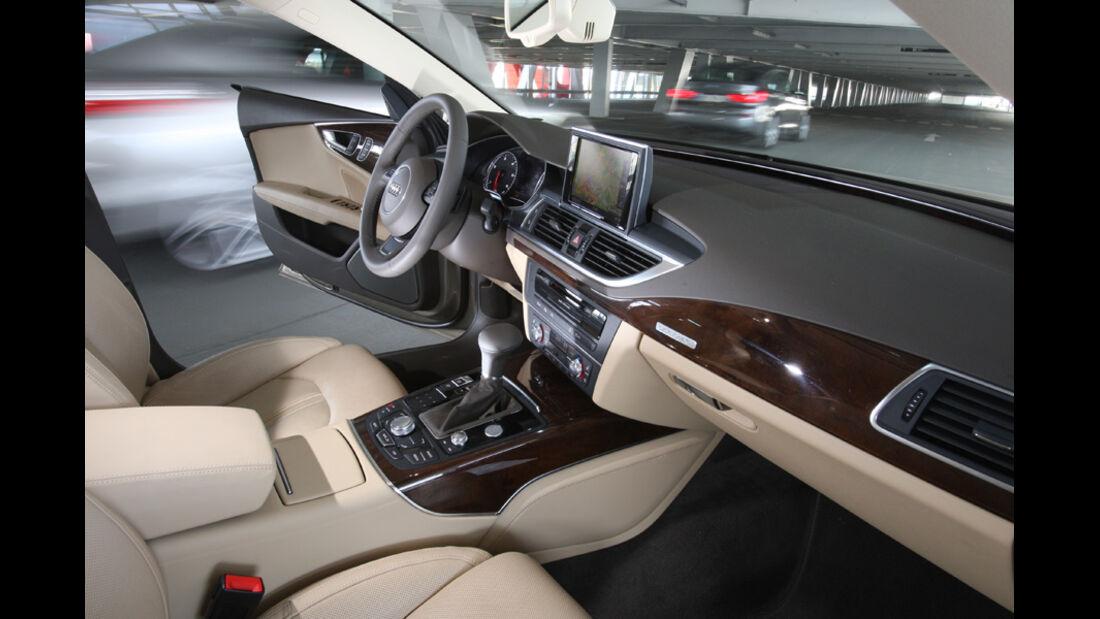 Audi A7 3.0 TDI, Vordersitze