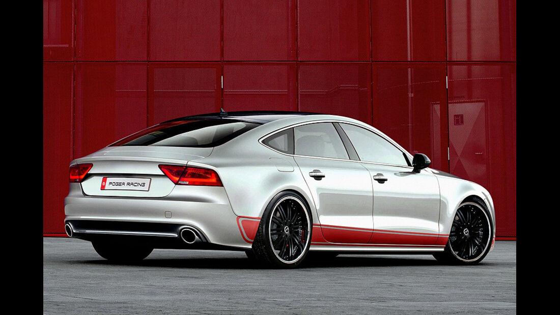 Audi A7 3.0 TDI von Pogea Racing, Heck
