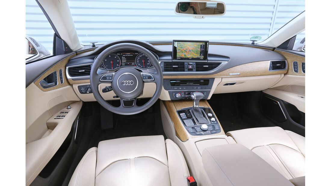 Audi A7, Cockpit