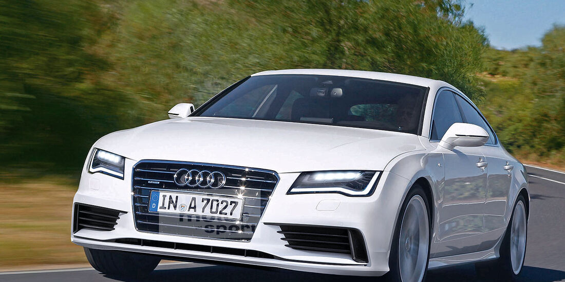 Audi A7 Facelift