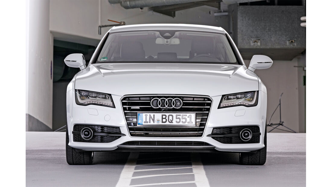 Audi A7, Frontansicht