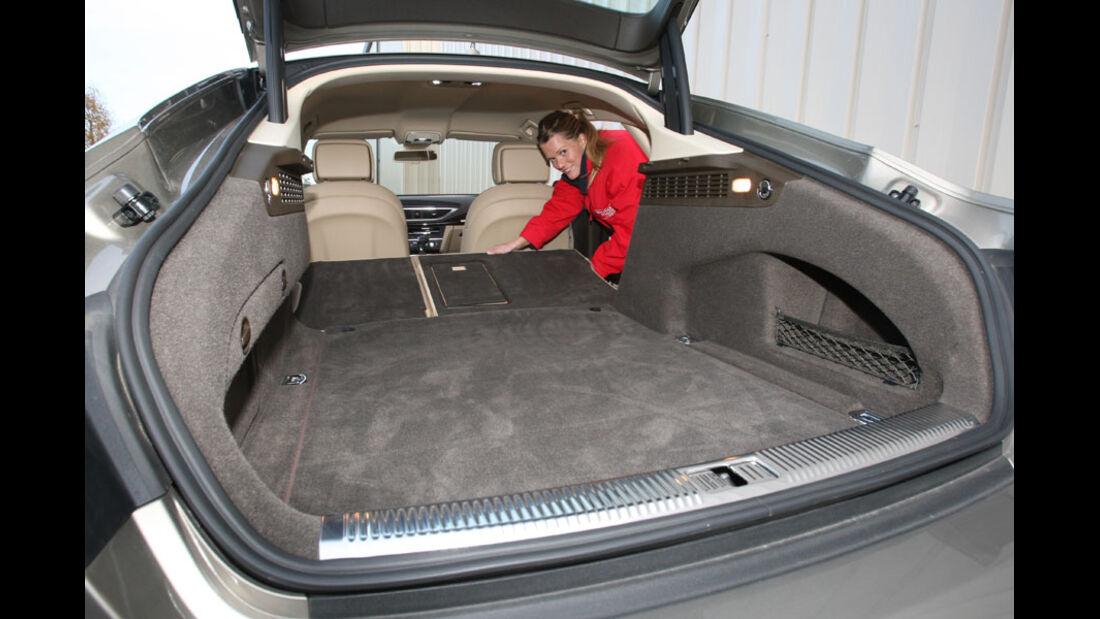 Audi A7, Kofferraum