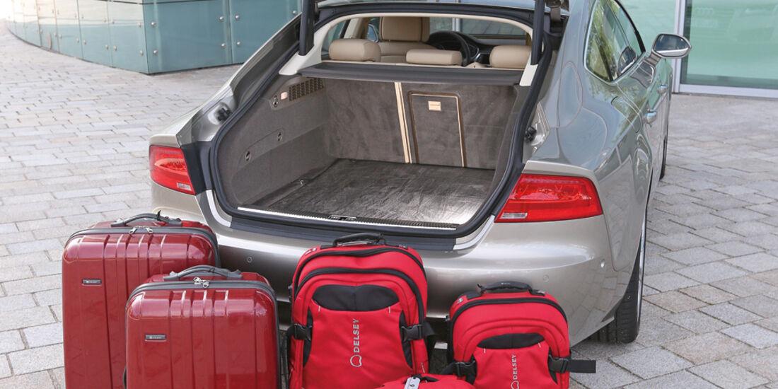 Audi A7, Kofferraum, Ladevolumen