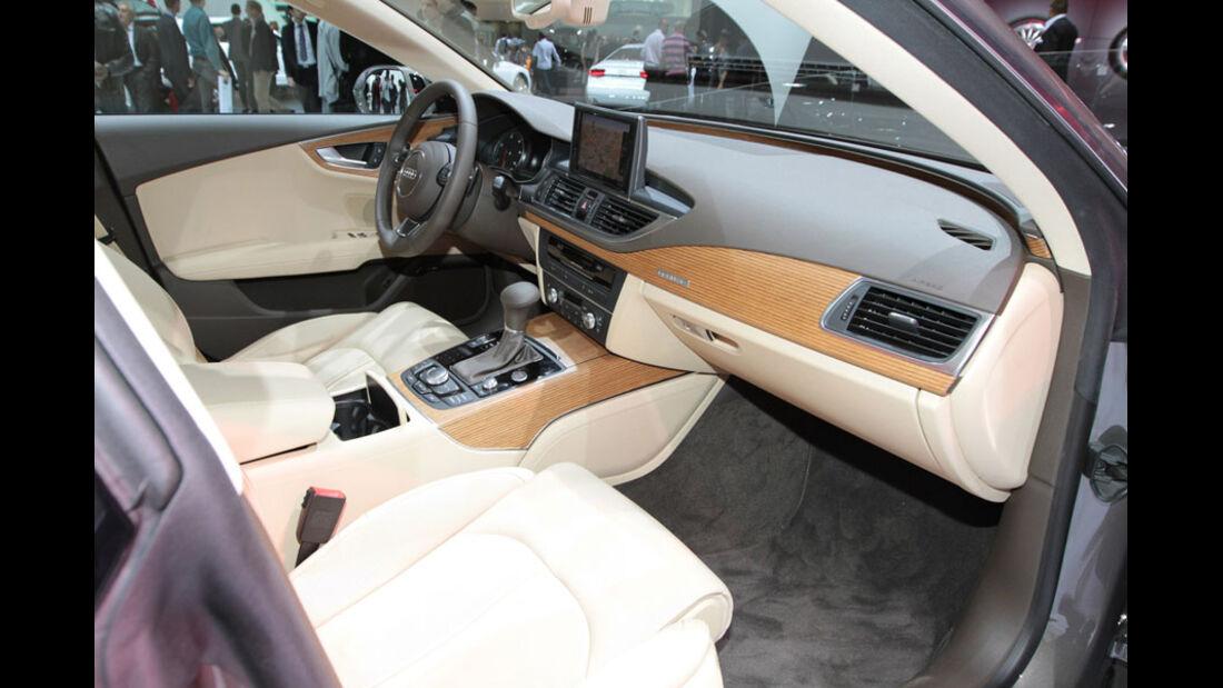 Audi A7 Paris 2010, Innenraum