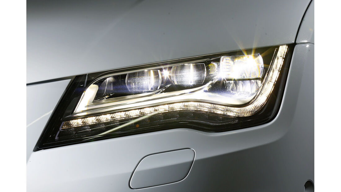 Audi A7, Scheinwerfer