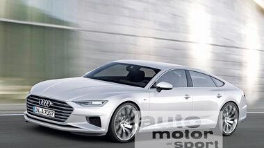 Audi A7, Seitenansicht