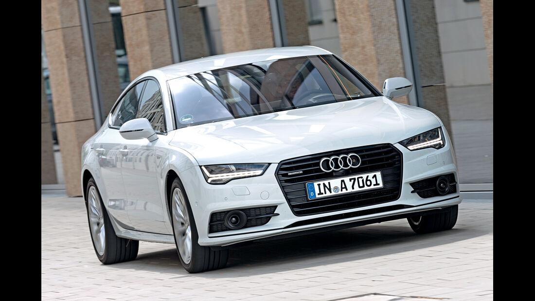 Audi A7 Sportback 3.0 TDI QUATTRO, Frontansicht