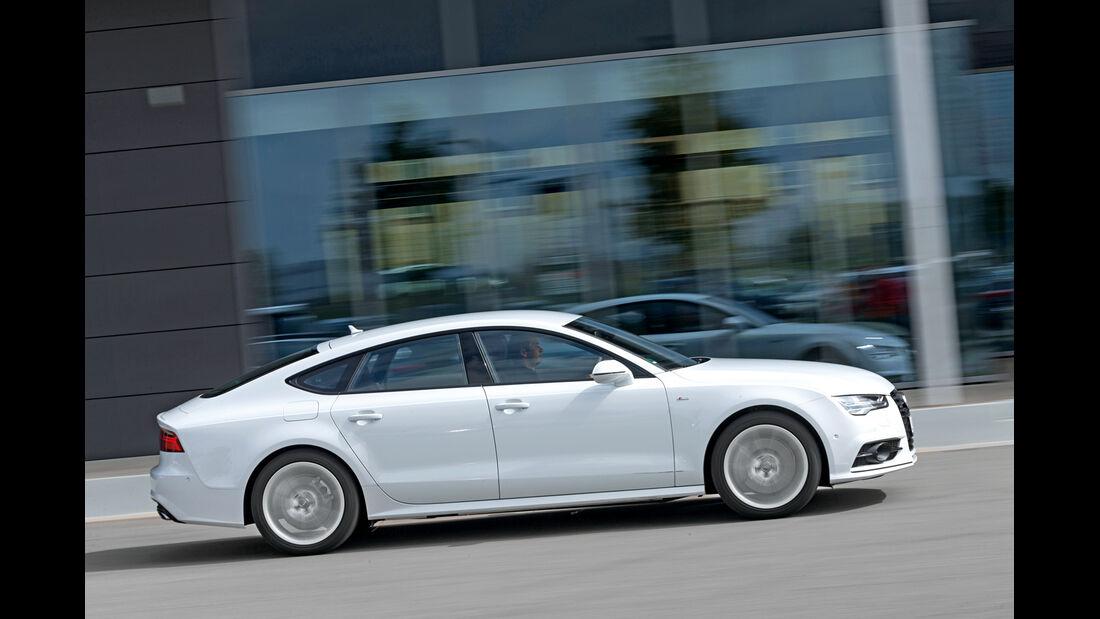 Audi A7 Sportback 3.0 TDI QUATTRO, Seitenansicht