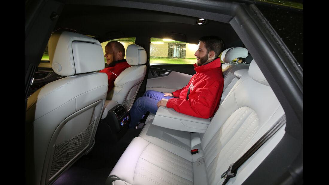 Audi A7 Sportback 3.0 TDI Quattro, Fondsitz