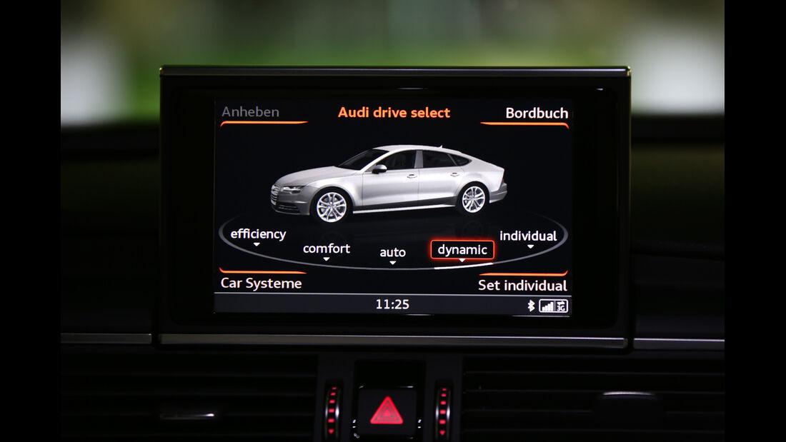 Audi A7 Sportback 3.0 TDI Quattro, Infotainment, Bildschirm