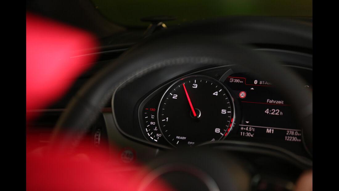 Audi A7 Sportback 3.0 TDI Quattro, Rundinstrumente