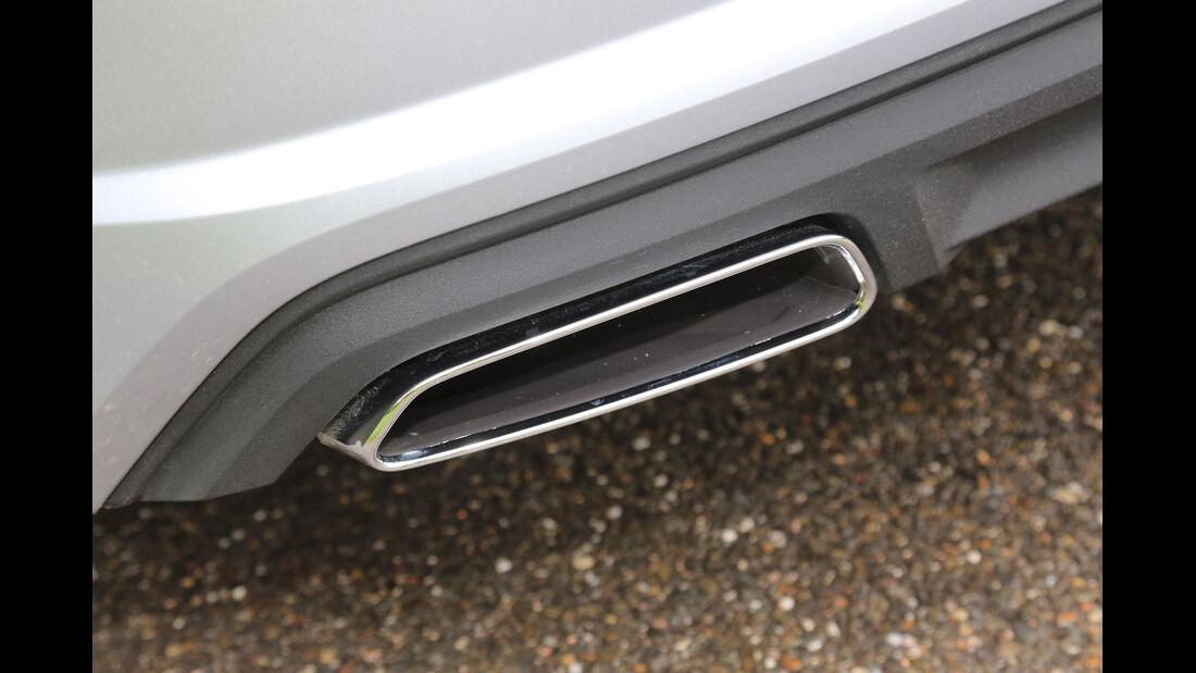 Audi A7 Sportback 3.0 TDI Ultra, Auspuff, Endrohr