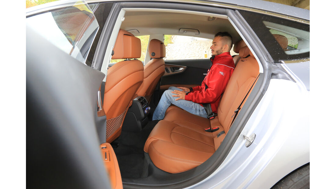 Audi A7 Sportback 3.0 TDI Ultra, Fondsitz