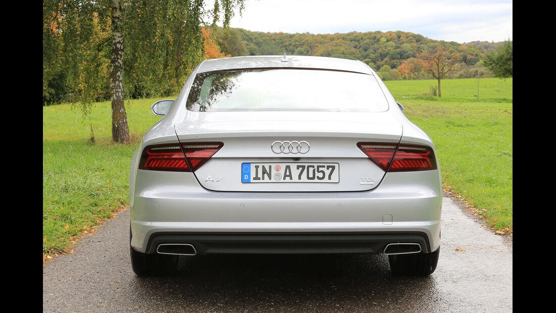 Audi A7 Sportback 3.0 TDI Ultra, Heckansicht