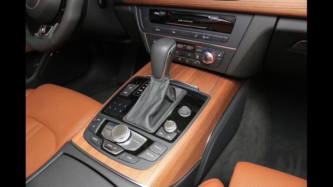 Audi A7 Sportback 3.0 TDI Ultra, Schalthebel