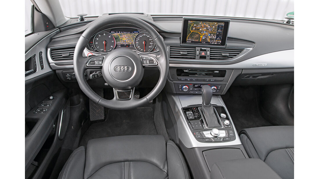 Audi A7 Sportback 3.0 TFSI Quattro, Cockpit