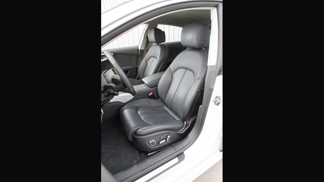Audi A7 Sportback 3.0 TFSI Quattro, Fahrersitz