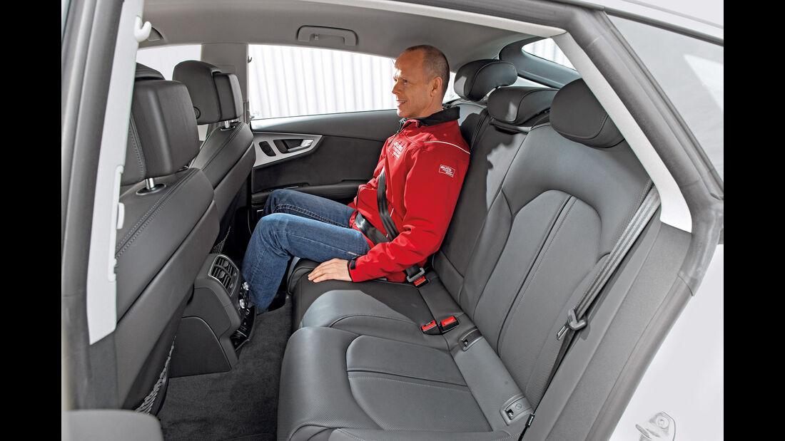 Audi A7 Sportback 3.0 TFSI Quattro, Fondsitz
