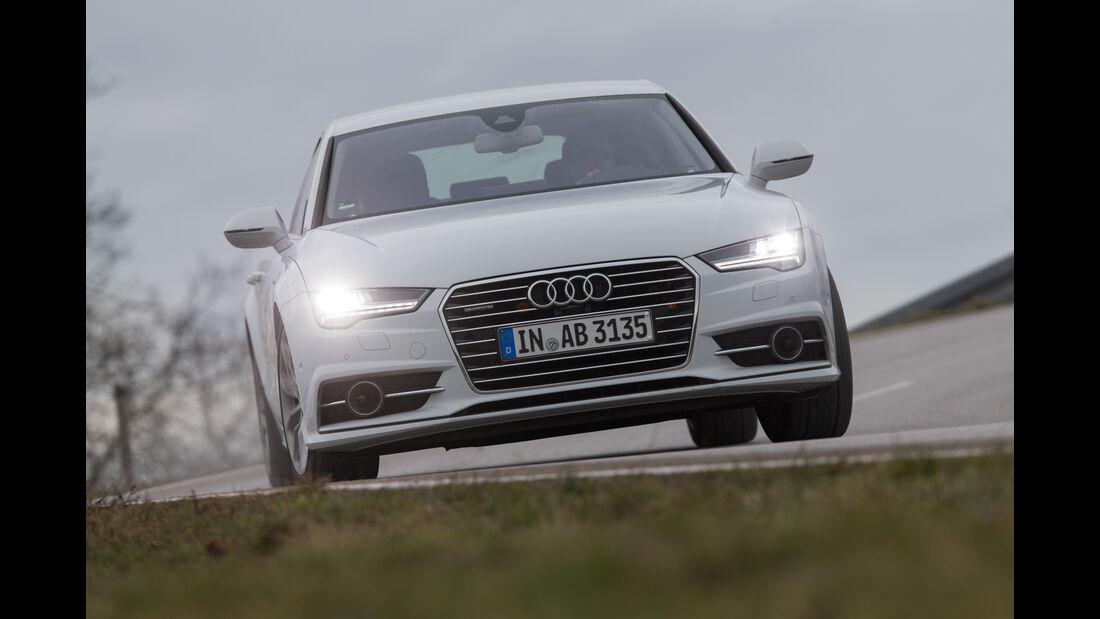 Audi A7 Sportback 3.0 TFSI Quattro, Frontansicht