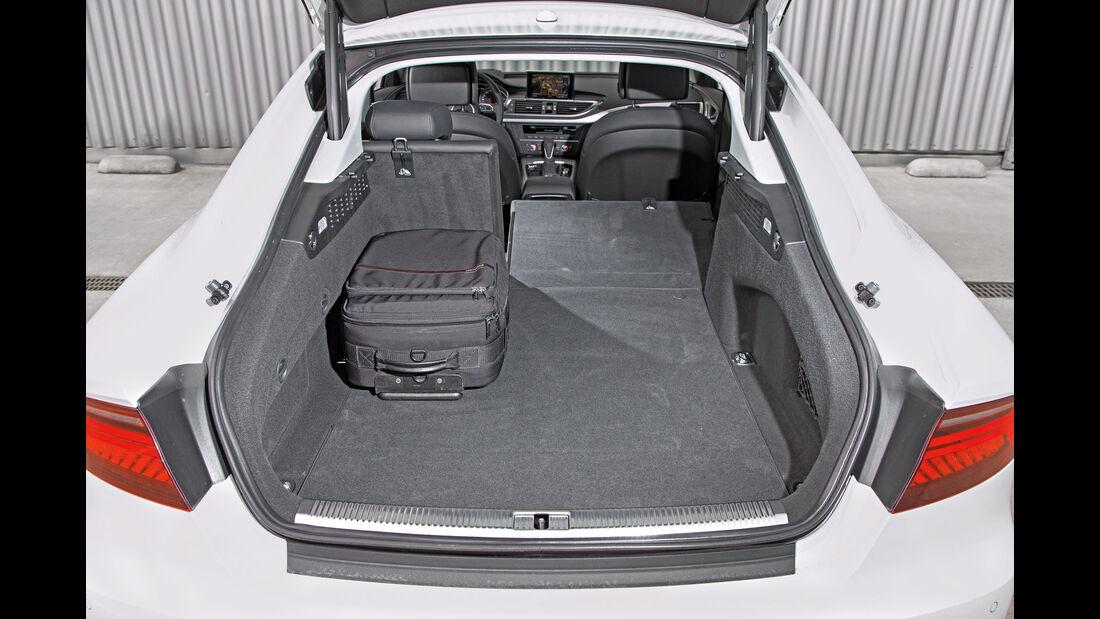 Audi A7 Sportback 3.0 TFSI Quattro, Kofferraum