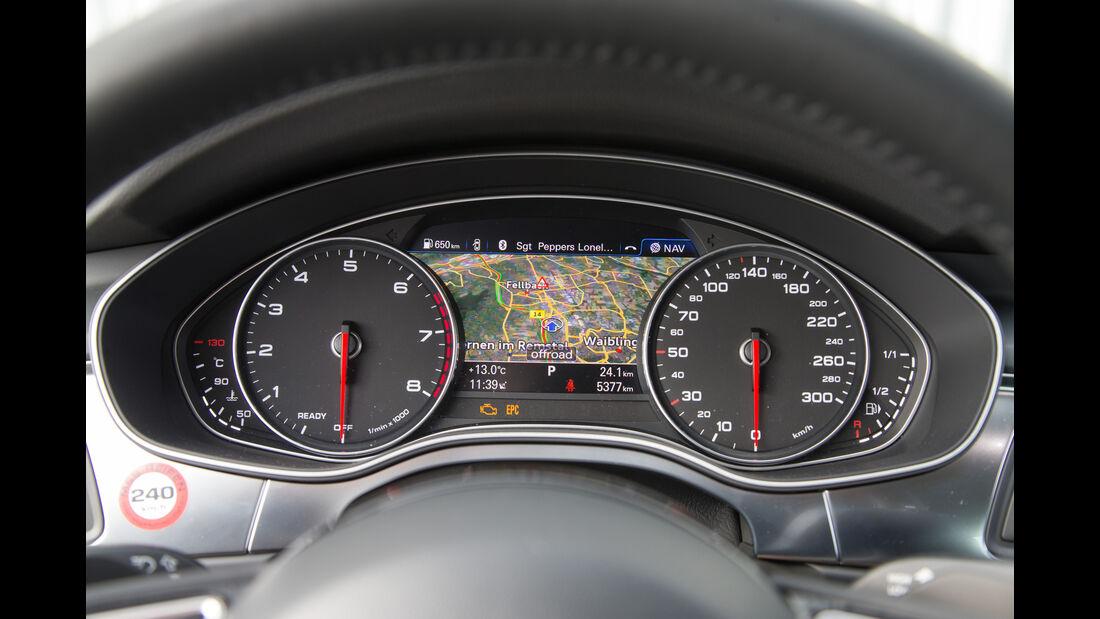 Audi A7 Sportback 3.0 TFSI Quattro, Rundinstrumente