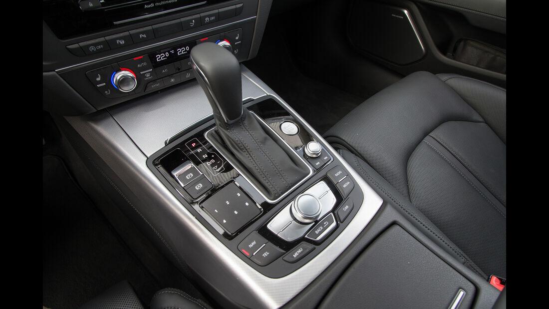 Audi A7 Sportback 3.0 TFSI Quattro, Schalthebel