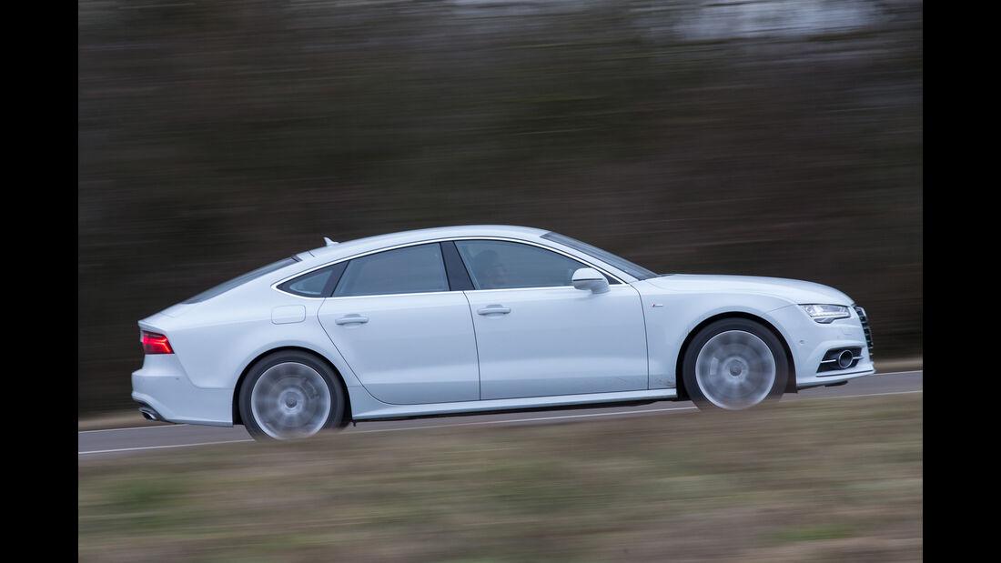 Audi A7 Sportback 3.0 TFSI Quattro, Seitenansicht