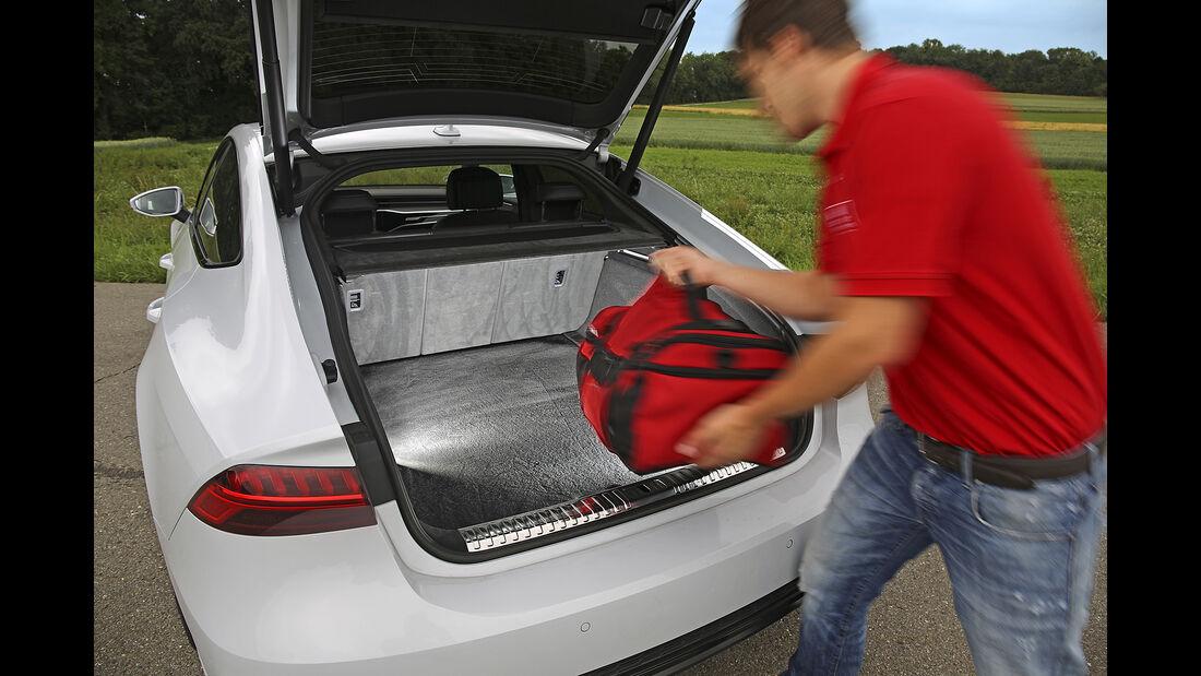Audi A7 Sportback 55 TFSI Quattro, Kofferraum