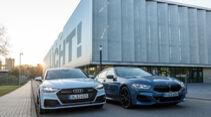 Audi A7 Sportback, BMW Achter Gran Coupé