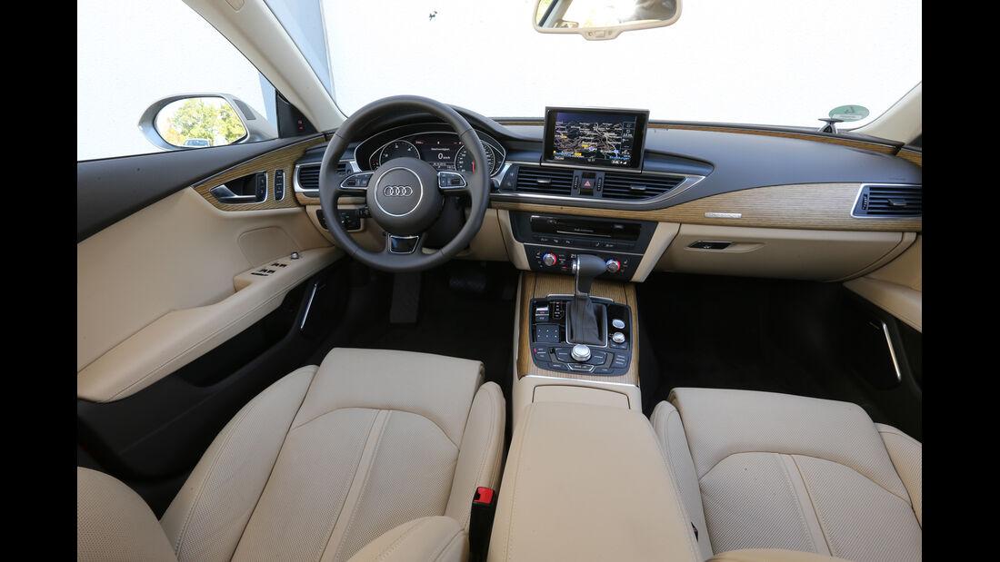 Audi A7 Sportback, Cockpit, Lenkrad