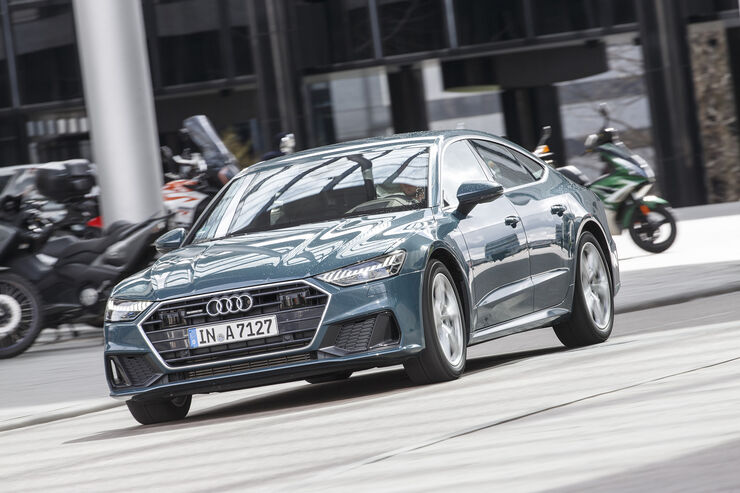 Audi A7 Sportback, Exterieur