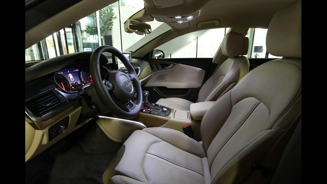 Audi A7 Sportback, Fahrersitz, Cockpit