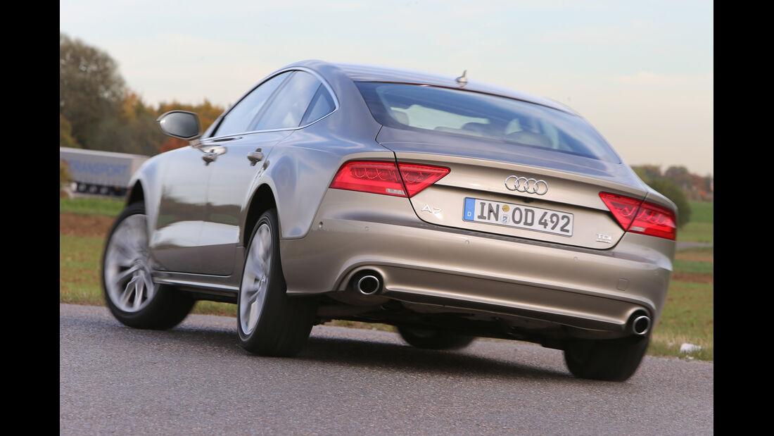 Audi A7 Sportback, Heckansicht