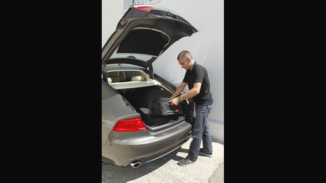 Audi A7 Sportback, Heckklappe, Kofferraum