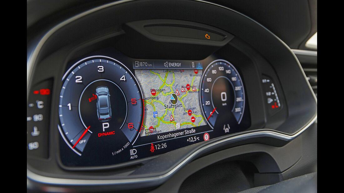 Audi A7 Sportback, Interieur