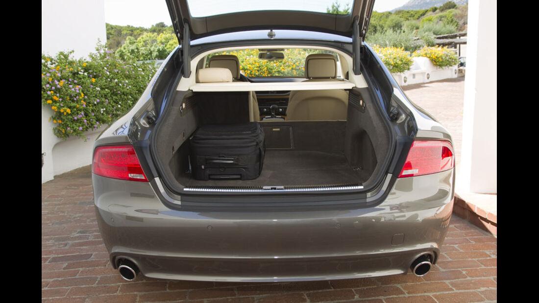 Audi A7 Sportback, Kofferraum