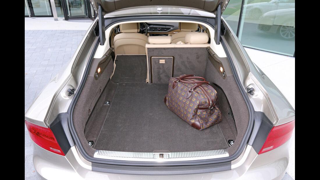 Audi A7 Sportback, Kofferraum, Ladefläche