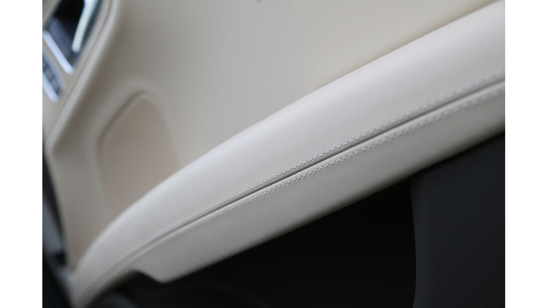 Audi A7 Sportback, Naht, Verarbeitung, Detail