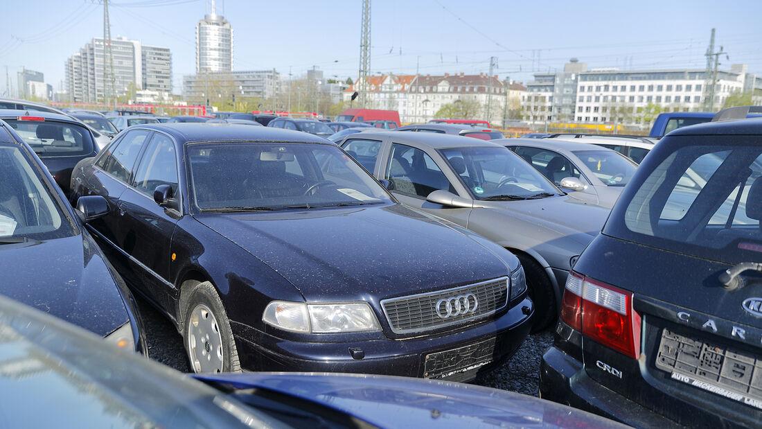 Audi A8 2.5 TDI, Exterieur