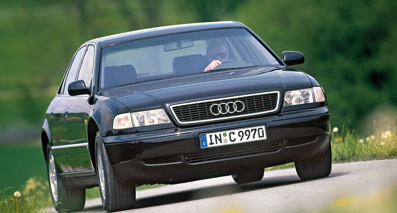Audi A8 2.8, Frontansicht