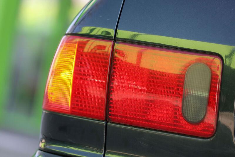 Audi A8 2.8 Quattro, Typ 4D (1996), Rücklicht